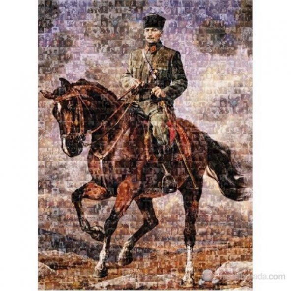 Art Puzzle 1000 Parça Puzzle Gazi Mustafa Kemal Sakarya İsimli At