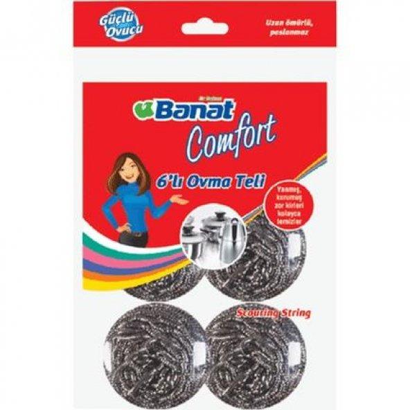 Banat Comfort 6 lı Bulaşık Ovma Teli