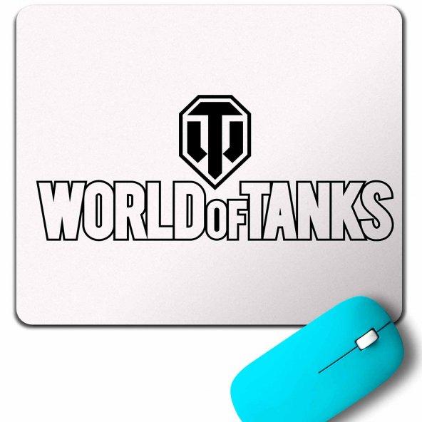 WORLD OF TANKS 1 2 3 LOGO MOUSE PAD