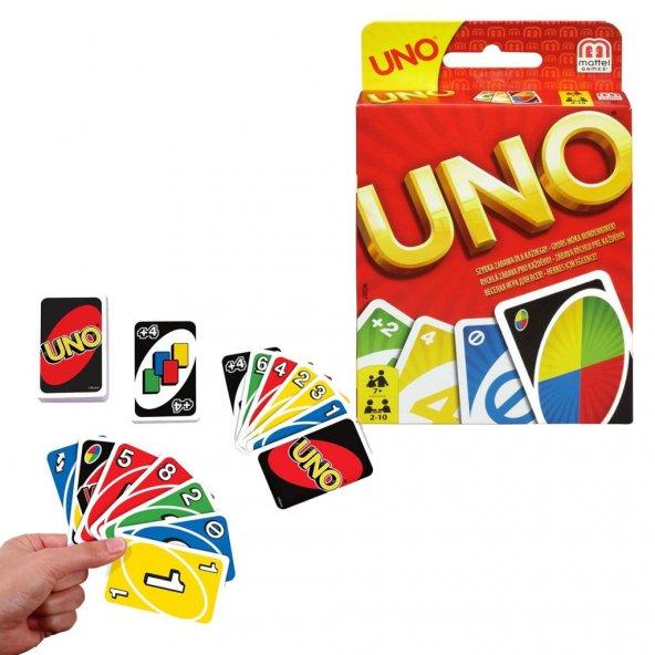 W2087 Uno Kartlar (Stantlı) /Aile- Kutu Oyunları