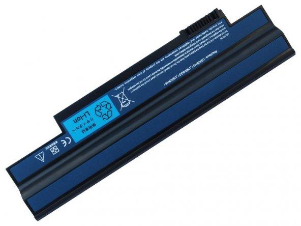 RETRO Acer Aspire One 532h, AO532h Notebook Bataryası - Siyah - 6