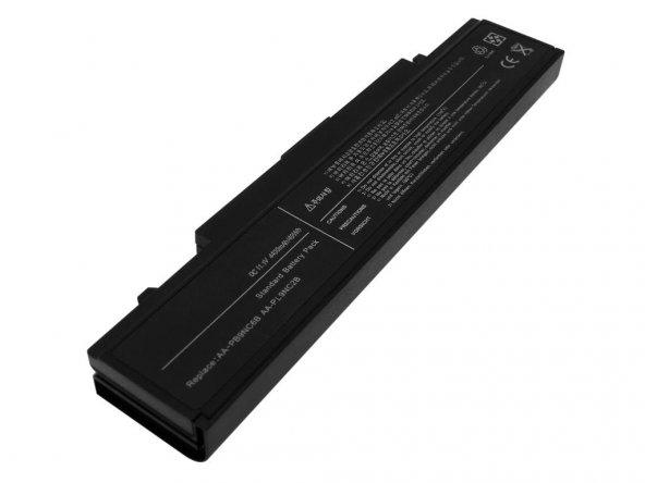 RETRO Samsung R522, R580, NP300E5A Notebook Bataryası - Siyah