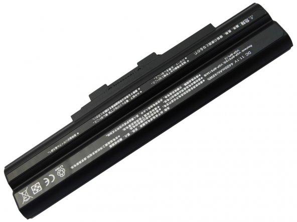 RETRO Sony Vaio VGP-BPS13, VGP-BPS21 Notebook Bataryası - Siyah -