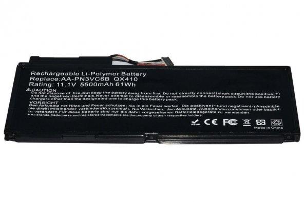 RETRO Samsung SF310, SF510, AA-PN3NC6F Notebook Bataryası