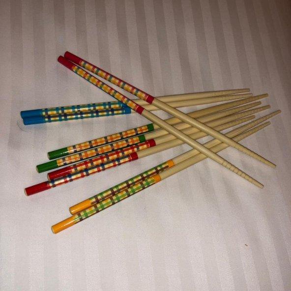 Bambu ağacından Chopstick - 5 çift