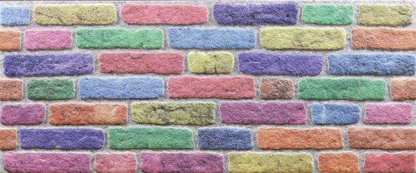 651-221 Tuğla Dokulu Strafor Duvar Paneli