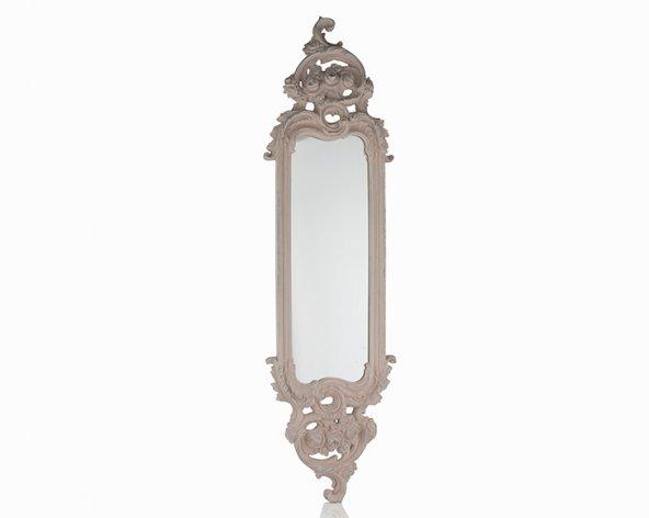 Porio Pr30-1110-Pembe Renk Uzun İnce Ayna 115*32