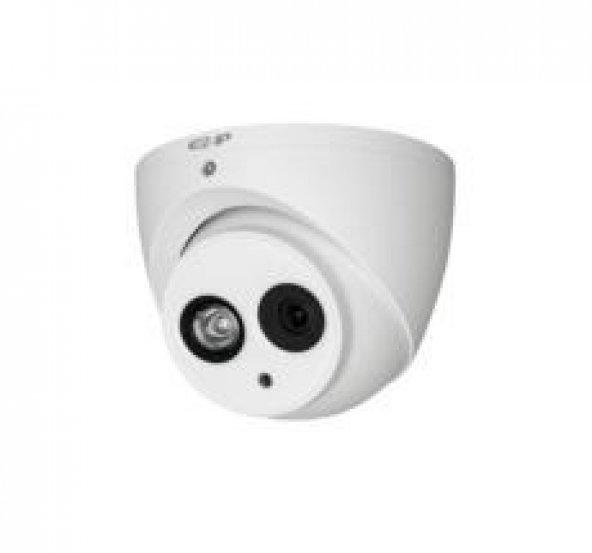 EZ-IP HAC-T2A21-A 2MP 3.6mm Sabit Lens Dahili Mikrofon 50M CVI AHD TVI CVBS AHD Dome Kamera