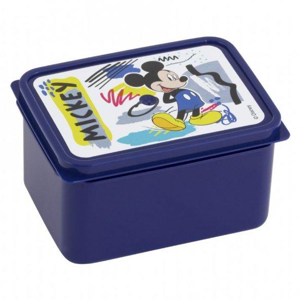 Mickey Mouse Lisanslı Mavi Saklama Kabı - Erkek Çocuk