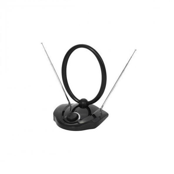 Vivanco 31760-TVF 09B Anlg ve Dijital Oda içi TV ve Rad. Anten