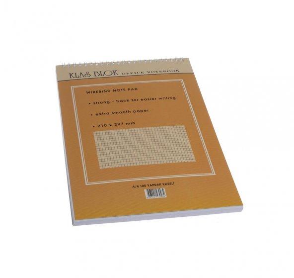 Klas Blok A4 Spiralli Office Notebook 6 li