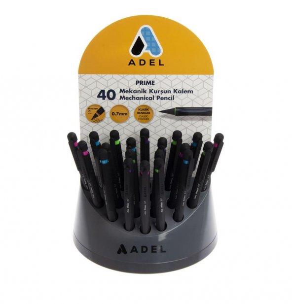 Adel Auto Prime Klasik 0.7 mm Versatil Kalem 60 li Stant