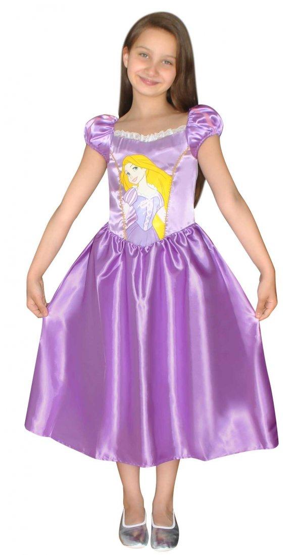 Disney Rapunzel Kostüm 7-9 Yaş