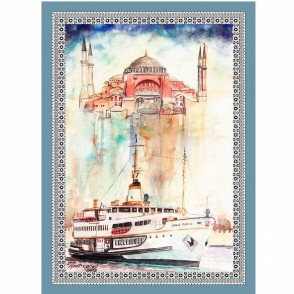 50 cm X 70 cm Tablo Halı - İstanbul