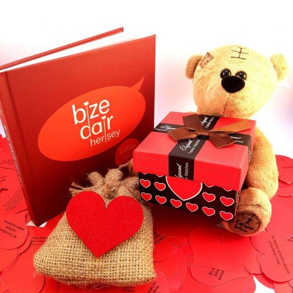 Sevgiliye Romantik Hediye Seti - Model 20