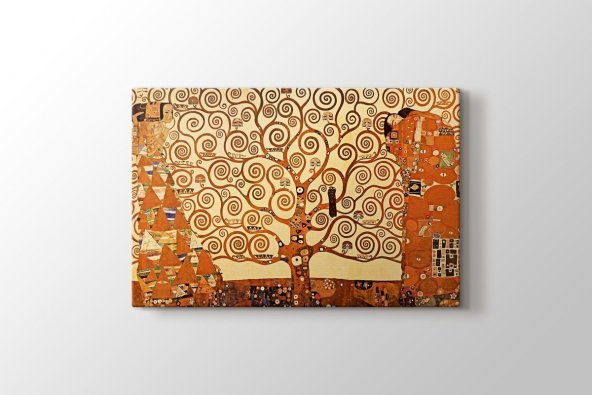 Gustav Klimt - Tree of Life Tablosu 100 x 140 cm