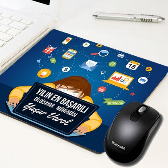 Yılın En Başarılısı İsim Yazılı Mousepad