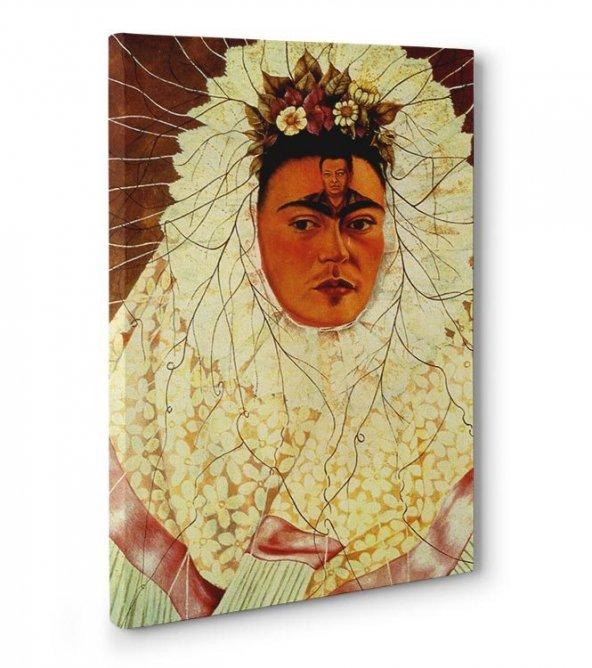 frida kahlo tabloları - Tehuana Olarak Otoportre 50 cm x 70 cm
