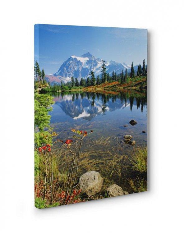 Naturel Doğa Manzara Tablosu 30x45 cm