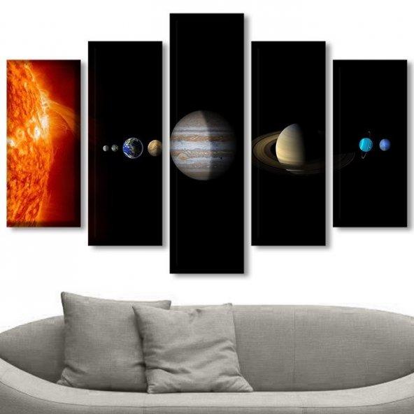Güneş Sistemi Tablosu KÜÇÜK BOY