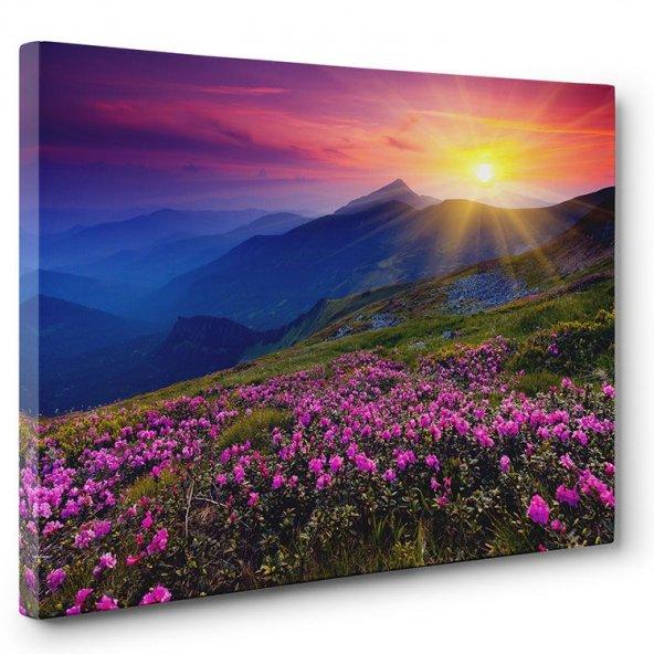 Kır Çiçekleri Tablosu 100 x 140 cm