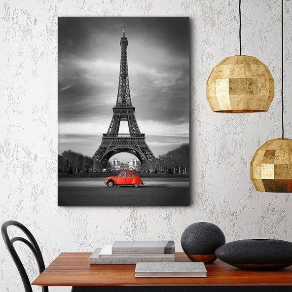 Paris Eyfel Kulesi Tablosu - Dikey Tablo 100 x 140 cm