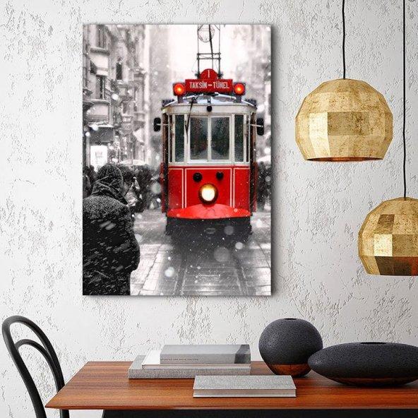 İstiklal Caddesi İstanbul Tablosu - Dikey Tablo 30x45 cm