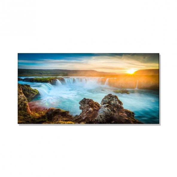 Deniz Dalgalar   Kanvas Tablosu 40 cm x 80 cm