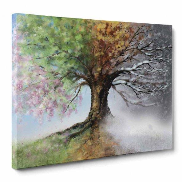 Dört Mevsim Tablosu 50x70 cm