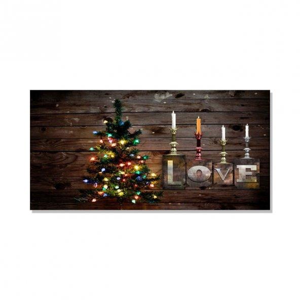 Love  Kanvas Tablosu 60 cm x 120 cm