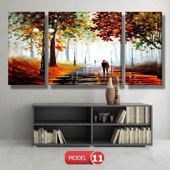 yürüyen sevgililer resimli  Duvar Tablosu MODEL 11 - 126x60 cm