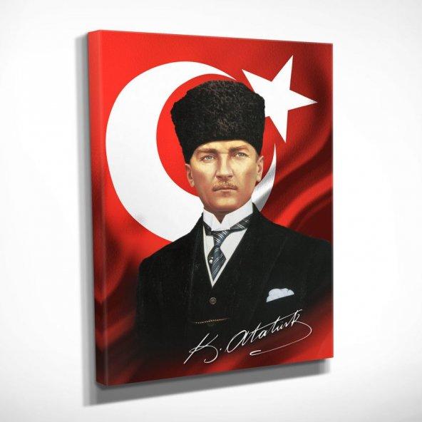 Ofis için Atatürk Portresi Tabloları