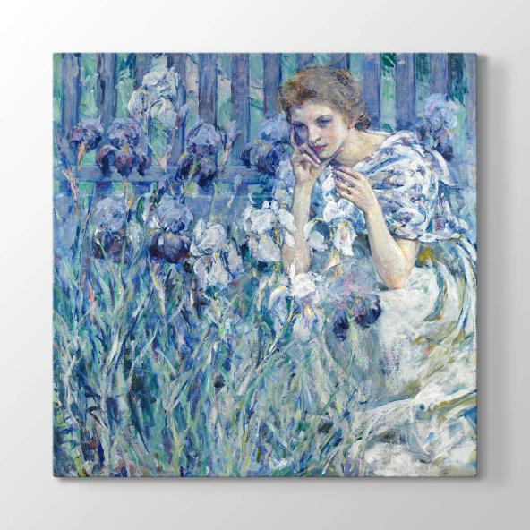 Robert Reid - Lis Çiçeği Kanvas Tablo 120 cm x 120 cm