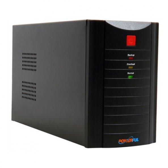 Powerful 1500 VA (PL-1500) Line Interactive 5-20 UPS