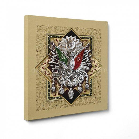 Osmanlı Arması Tablosu 80 cm x 80 cm