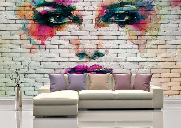 Kuaför Salonu Duvar Kağıdı - Seçenekli Ürün 700x375 cm