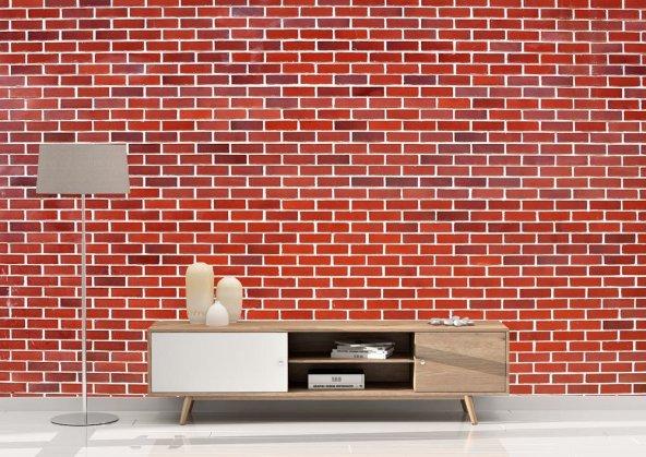 Tuğla Desenli Duvar Kağıdı - Seçenekli Ürün 700x375 cm