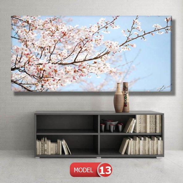 bahar çiçekleri tabloları MODEL 12 - 123x90 cm