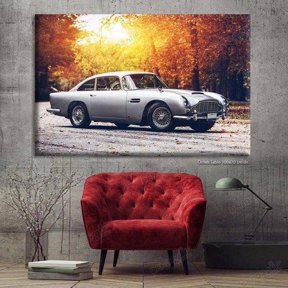 Klasik Araba Led Işıklı Tablo 60 x 90 cm