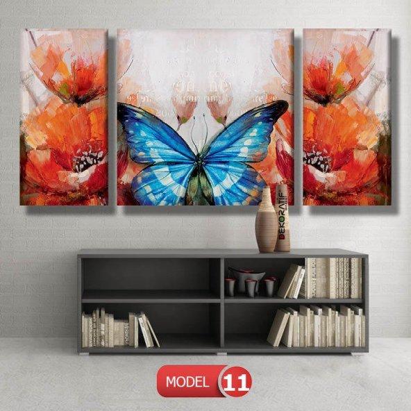 mavi kelebeki tablo modelleri MODEL 16 - 184x107 cm