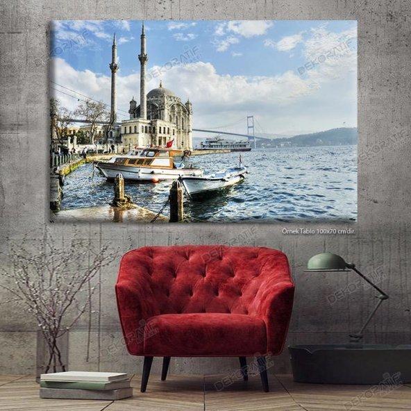 Ortaköy Cami Led Işıklı Tablo 100 x 200 cm