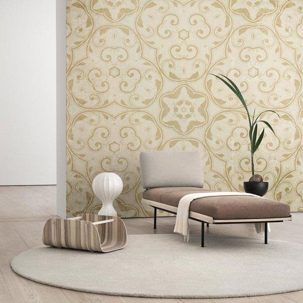 Çiçek Desenli Duvar Kağıdı - Seçenekli Ürün 500x300 cm