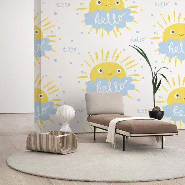 Çocuk Odası Duvar Kağıdı - Seçenekli Ürün 150x75 cm