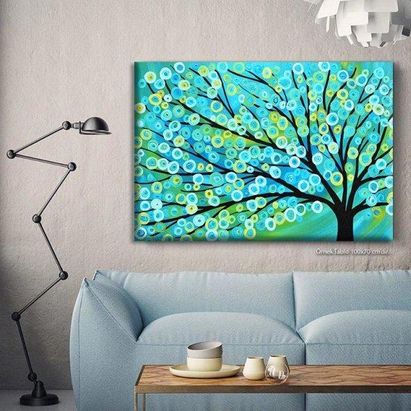 Manzara Resimli Kanvas Tablo 80 x 125 cm