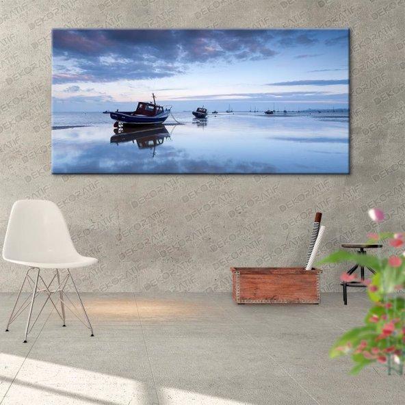 Deniz Manzara Duvar Tabloları 40 cm x 80 cm