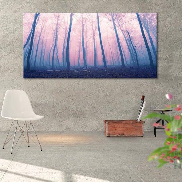 Yağlı Boya Görünümlü Manzara Tabloları 60 cm x 120 cm