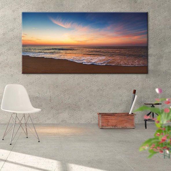 Deniz Manzarası Kanvas Tablosu 50 cm x 100 cm