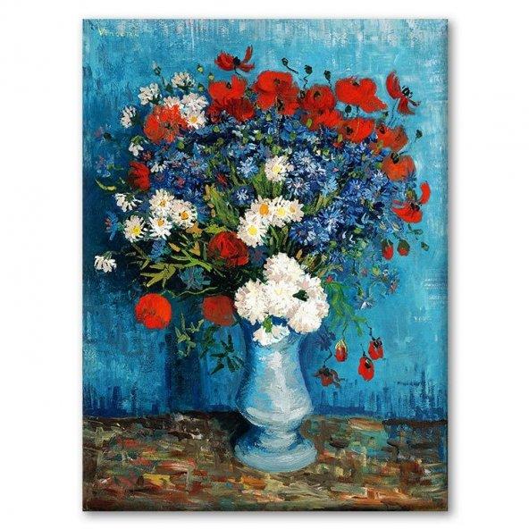 Vincent Van Gogh - The Seasons opens in Melbourne Tablosu 90x115 cm