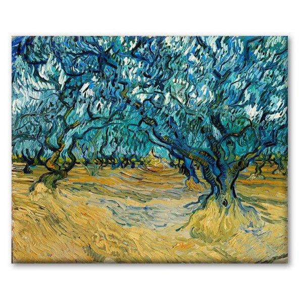 Vincent Van Gogh - MediterraneoCalm and exaltation Tablosu 60x75 cm