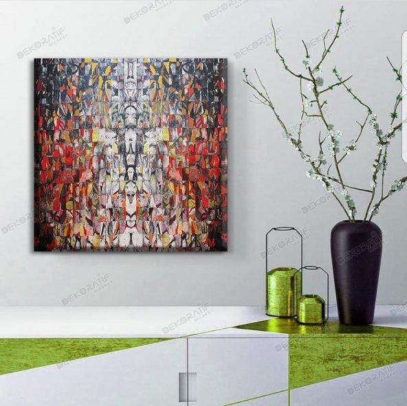 kanvas kare tablolar 40 cm x 40 cm